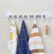 吸盤毛巾架