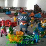 供应用于儿童娱乐的6座儿童广场旋转电动座椅 新款6座