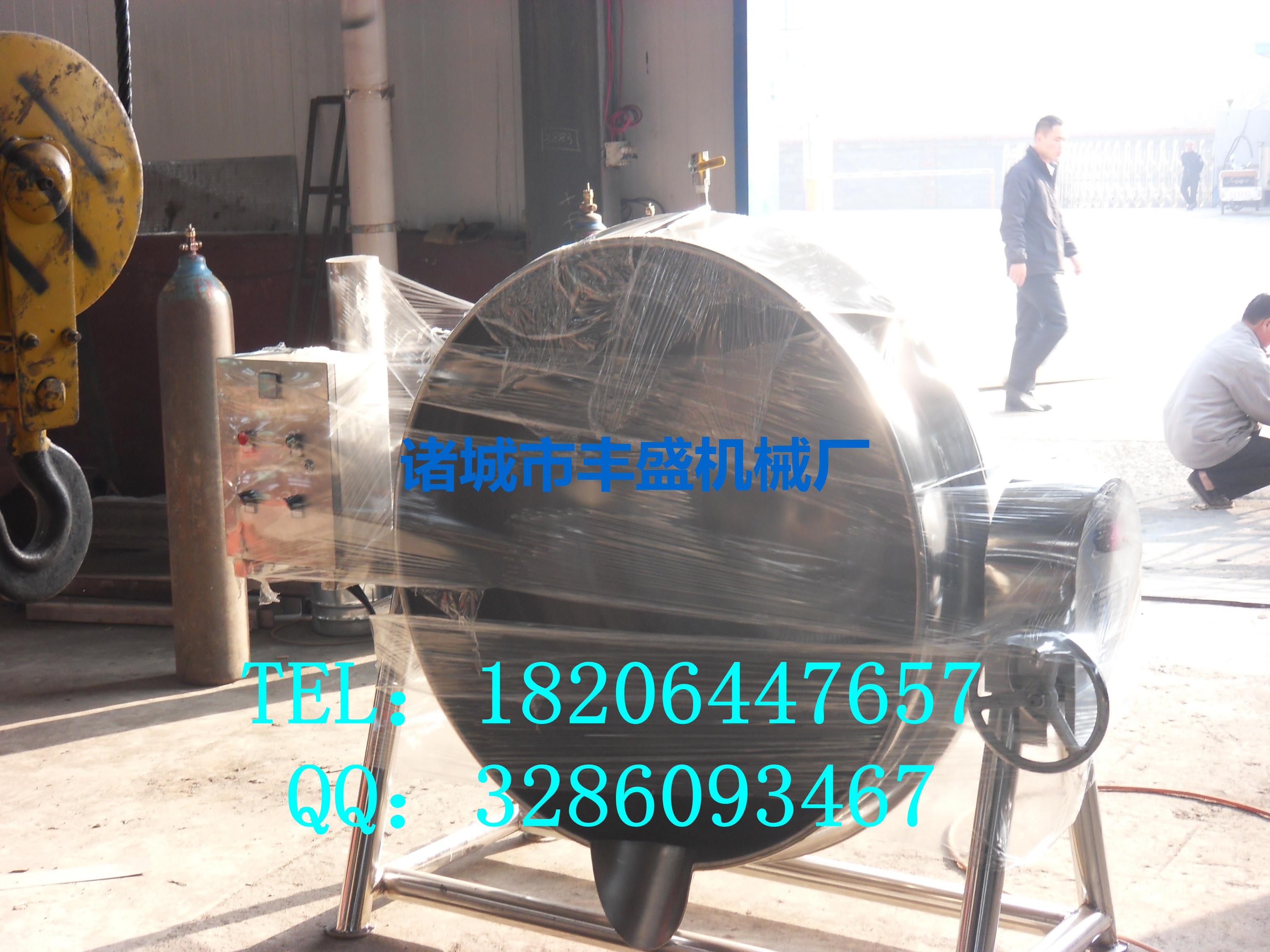 供应可倾式蒸汽夹层锅 导热油夹层锅 夹层锅批发