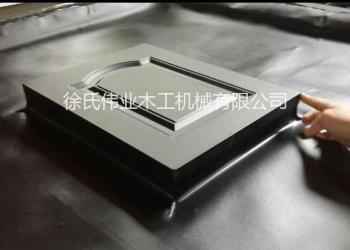 门板吸塑覆膜机图片