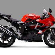 摩托车跑车晓星GT250R 价格:1800图片
