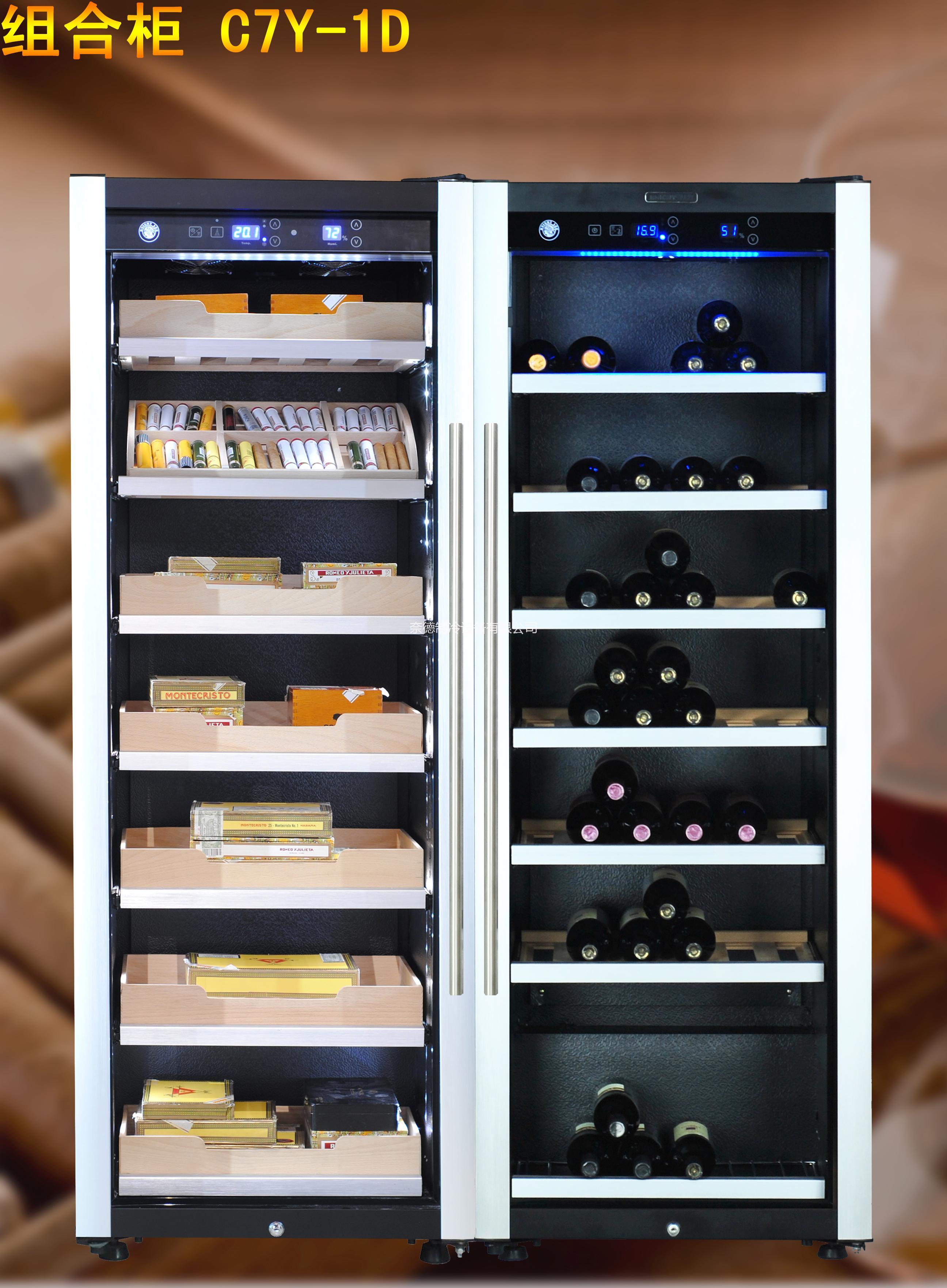 爆款实木电子欧式家用葡萄酒柜