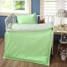 供应用于幼儿园床铺的幼儿园被子褥子婴童家纺床上三件套批发