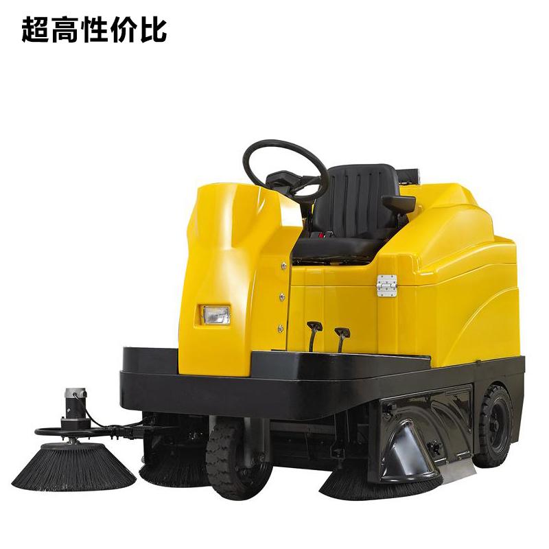 供应小区物业路面扫地机 驾驶式扫地车垃圾落叶清扫车 工厂扫地机