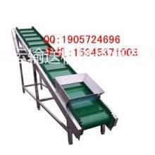 供应可调速木材木片装车用皮带机,防滑加挡板式散料输送机批发