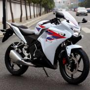 两轮摩托车图片