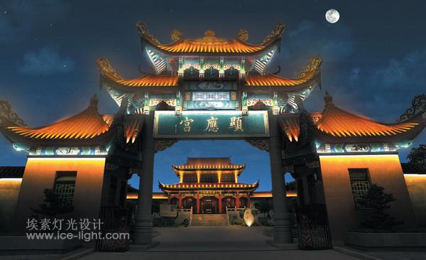 西安古建筑灯光设计批发