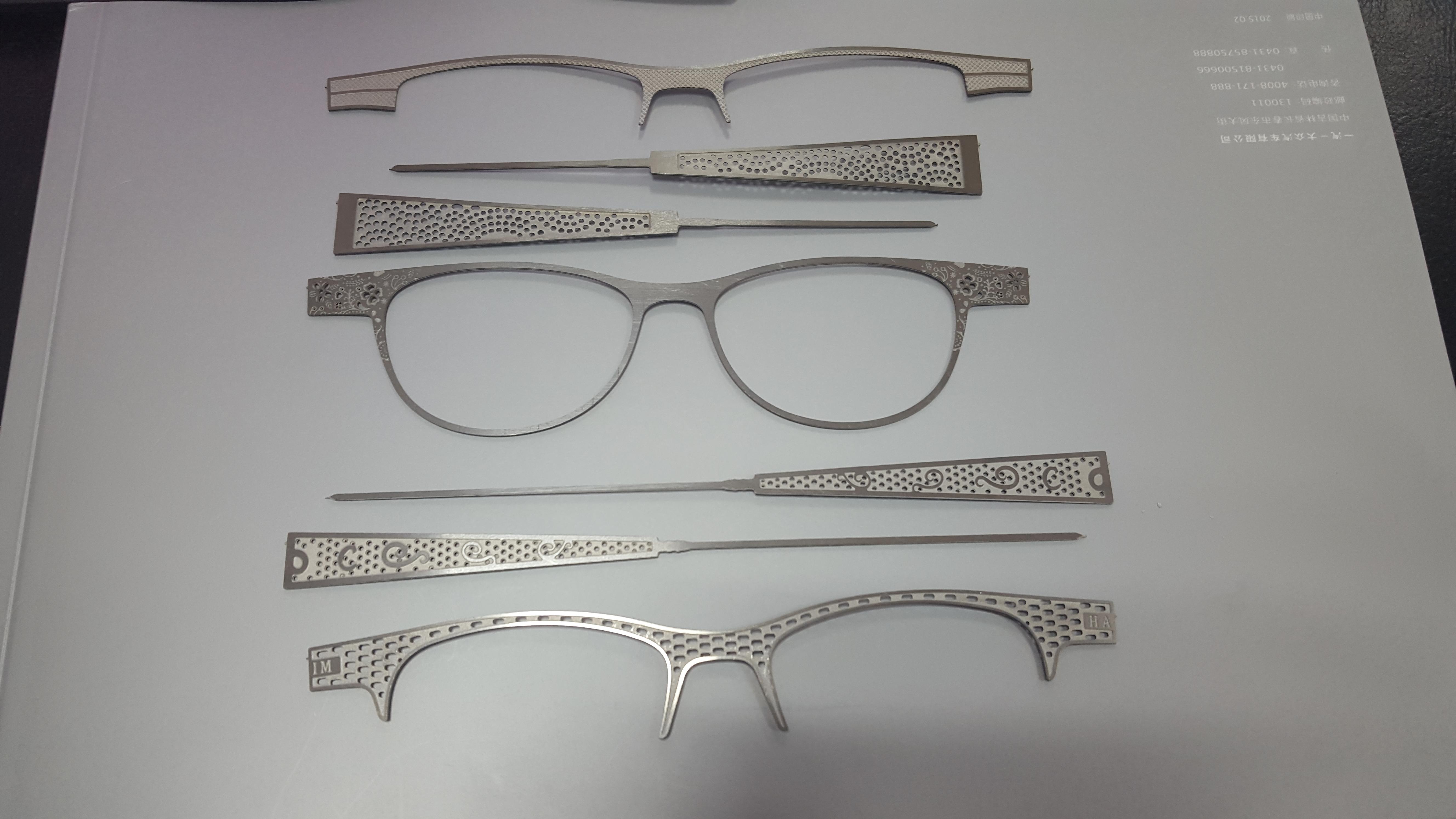 温州眼镜配件