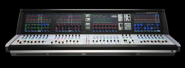 供应Soundcraft声艺 Vi3000 48路数字调音台
