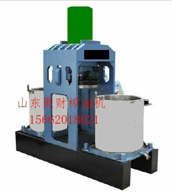 供应蒸大豆专用榨油机器制造厂家,两个料筒的液压榨油机械哪里有生产的多少钱
