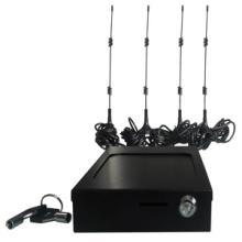 铁壳带锁具直插SIM卡支持3G/4G车载WIFI路由器定制OEM图片