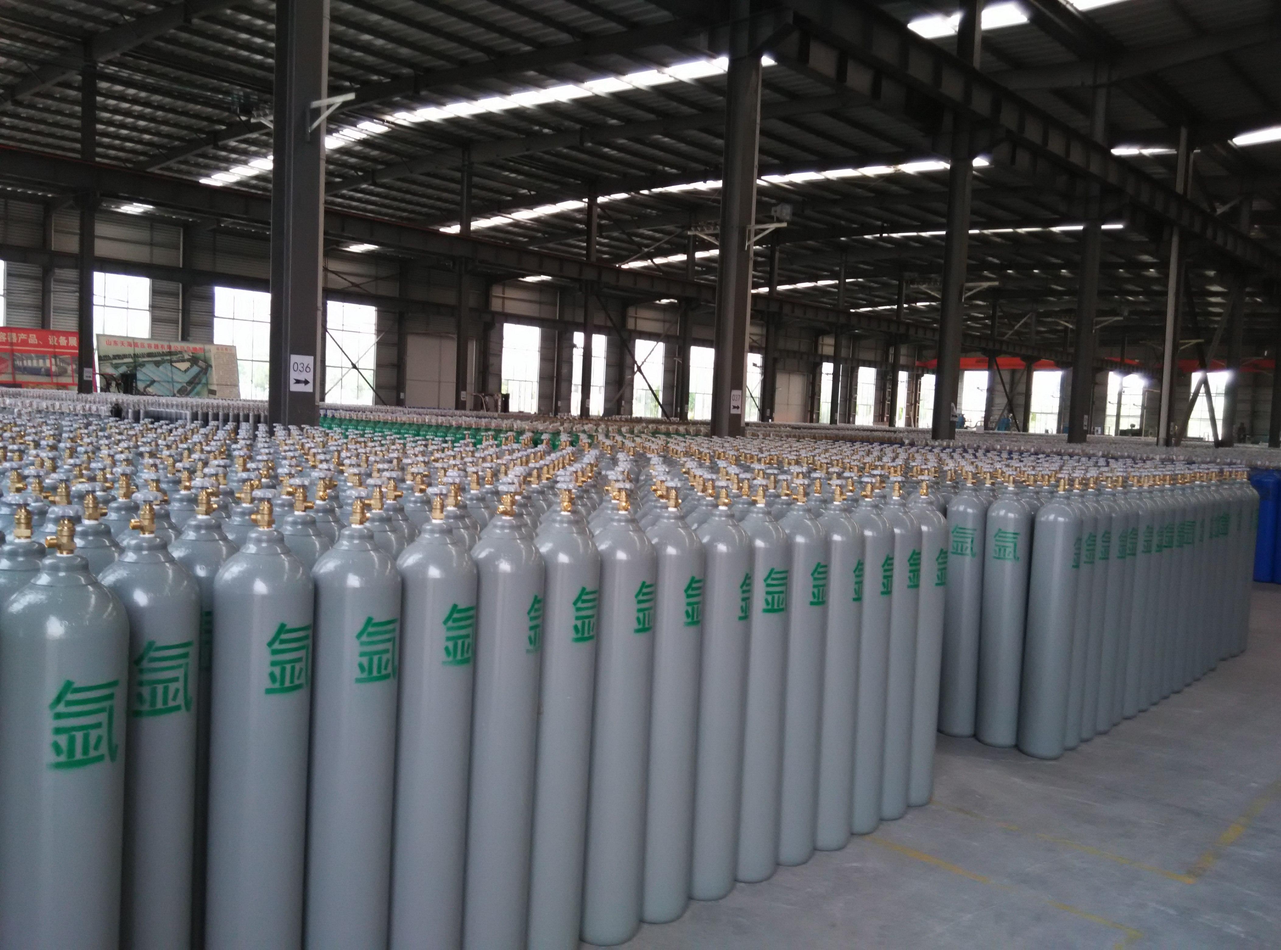 供应北京天海JP牌40升氧气瓶