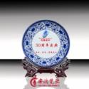 陶瓷摆盘 陶瓷挂盘 陶瓷奖盘图片