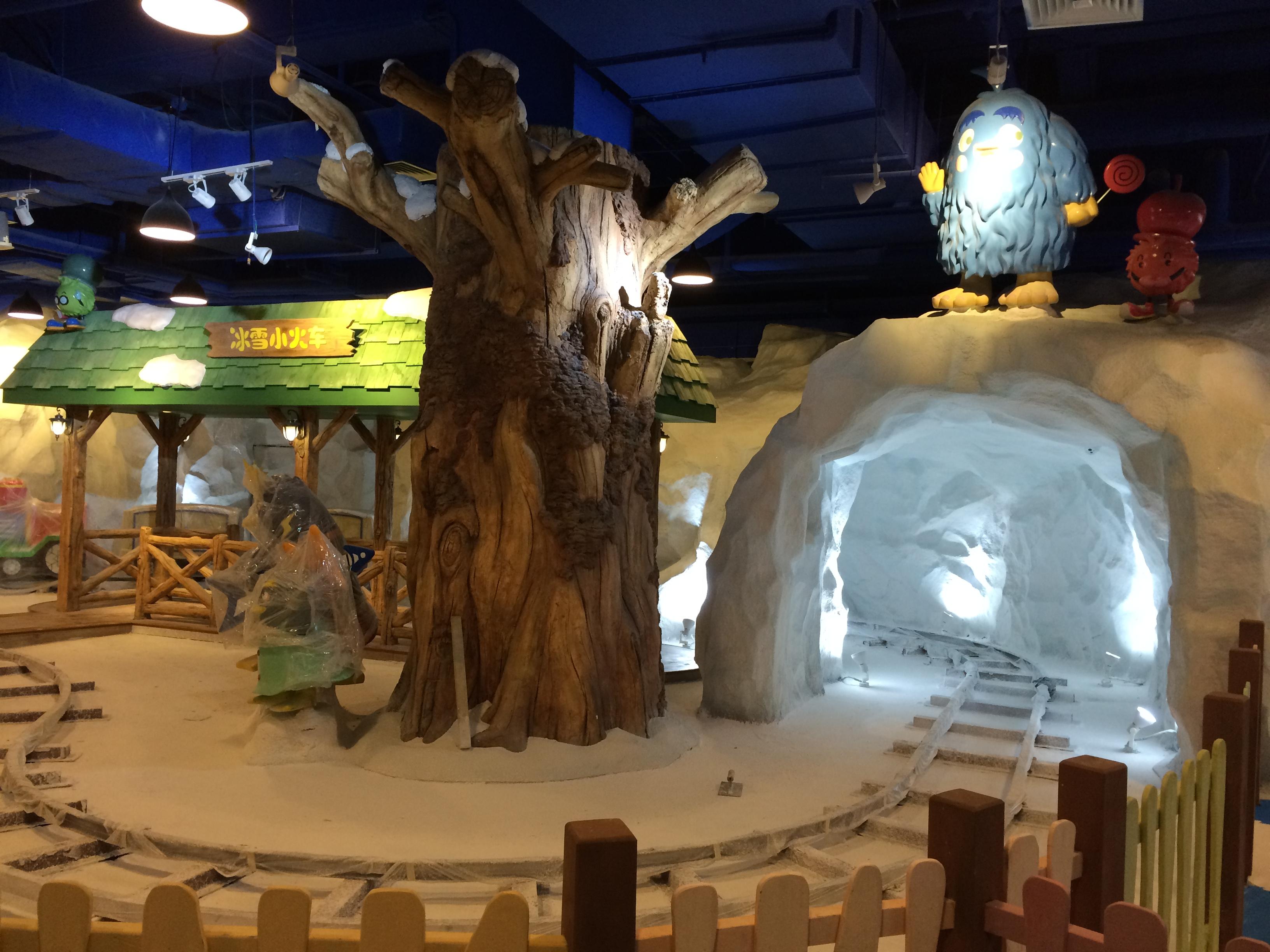 供应用于儿童室内乐园的冰雪主题公园设计