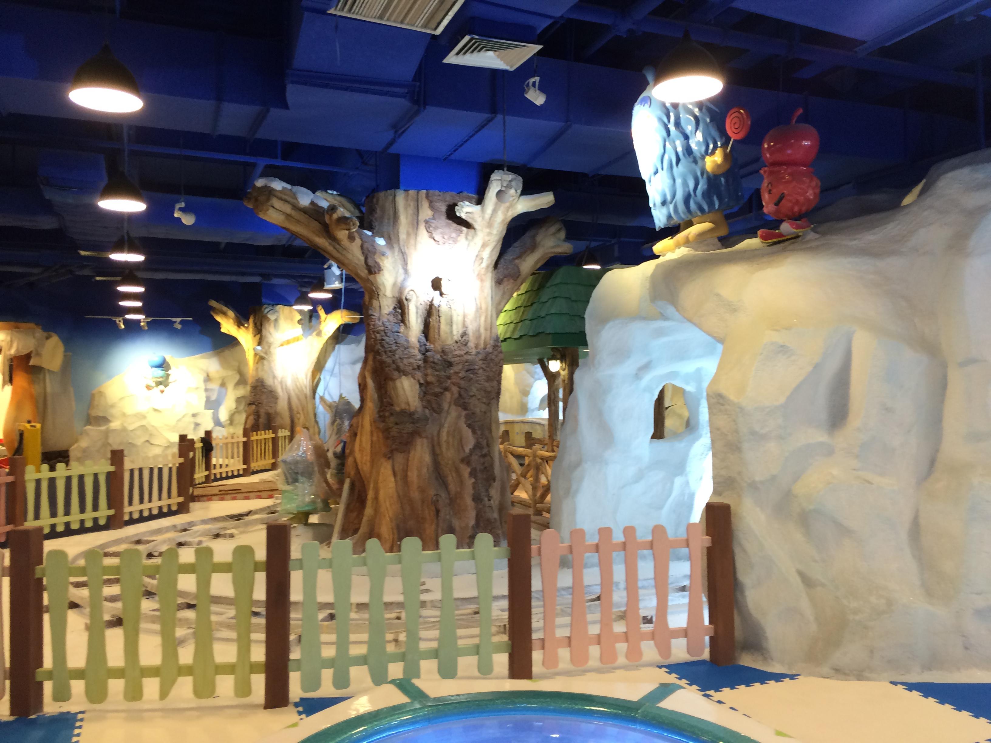 供应用于儿童室内乐园的冰雪主题公园设计图片大全