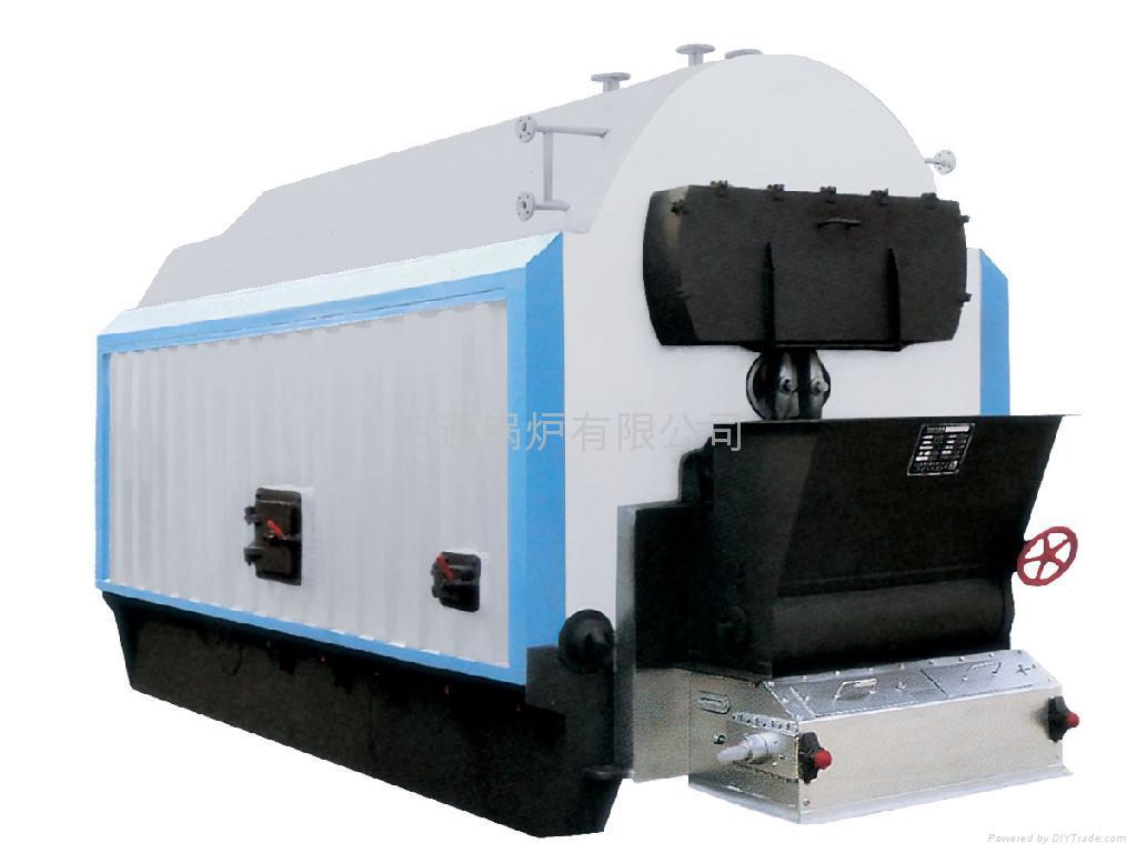 蒸汽锅炉结构特点