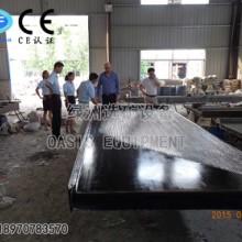 供应摇床面 6S选矿摇床面 玻璃钢摇床面 双曲波型摇床面 木质摇床床面 120槽细沙细泥摇床面型号规格