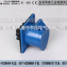 供应工业3心63A暗装插座图片