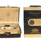 供应墨金双支皮盒,北京酒盒,红酒包装,酒盒现货,酒架酒具,双支皮盒
