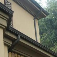 供应用于屋面排水|外墙排水的哈尔滨铝合金天沟、落水系统厂家批发