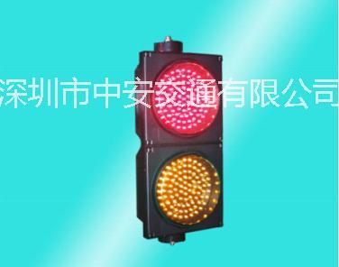 供应江苏交通信号灯 交通红绿灯厂商 双面双色爆闪灯