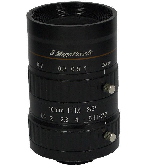 供应500万像素高清镜头 M1616C-5MP
