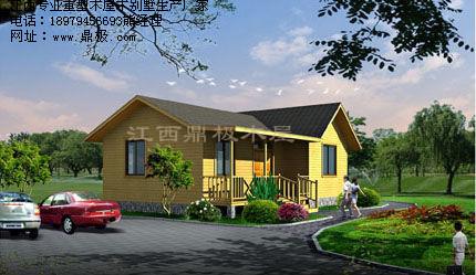 木屋别墅 两层 设计图