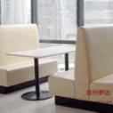 郑州定制西餐厅沙发卡座 咖啡厅沙图片