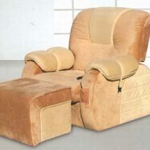 供應鄭州電動足療沙發美甲美容桑拿沙發按摩床足浴沙發休閑躺椅圖片