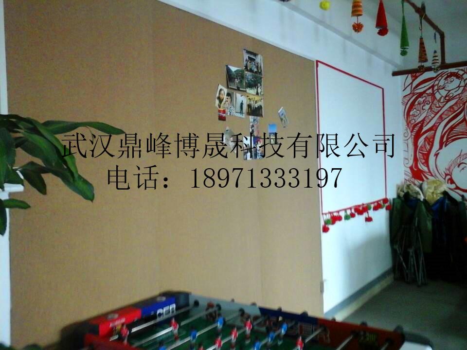 教学软木绿板软木黑板造型墙文化墙图片|教学软木绿
