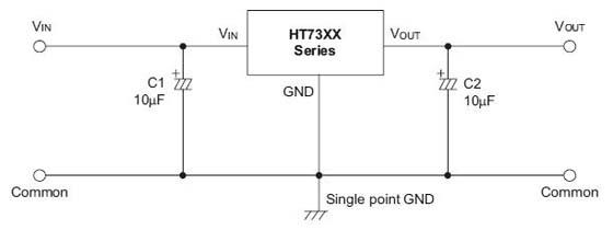 低功耗稳压芯片ht7333