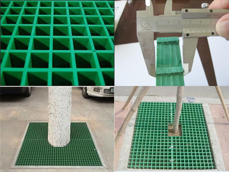 供应玻璃钢格栅树穴篦子树池篦子树围子/树坑网格板质量有保障