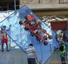 供应幕墙玻璃 建筑幕墙安装防爆玻璃与贴膜玻璃