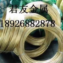 生产销售H70铆钉黄铜线|1.0mm高精黄铜线|半硬空心黄铜线