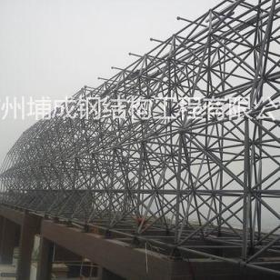 广州广告牌钢结构,广州攀岩墙钢架图片