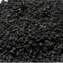 供应用于塑胶跑道的优质黑色橡胶颗粒,东进橡胶颗粒,价格低,质量好