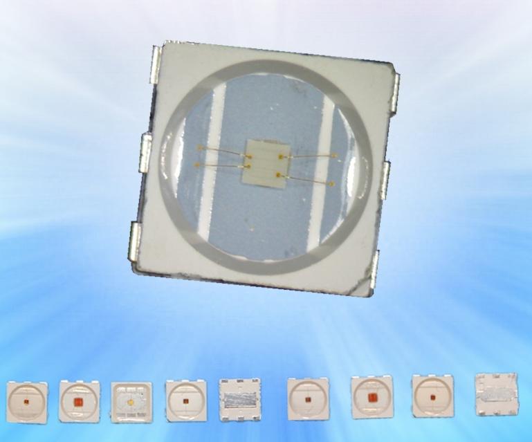供应贴片发光管5050绿光 0.5W5050绿光贴片