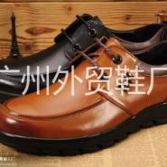 工厂批发2015秋冬新款骆驼休闲皮鞋图片