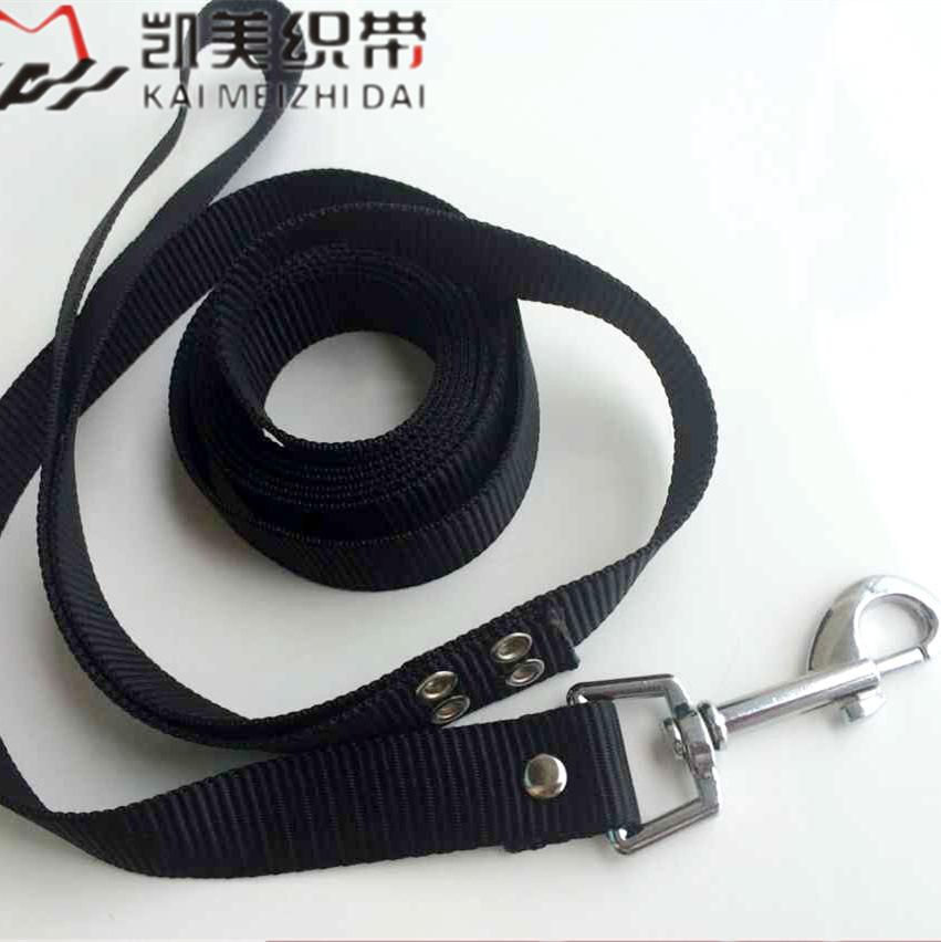 供应15米宠物牵引 2.5cm狗狗训练绳涤纶 义乌宠物用品厂家