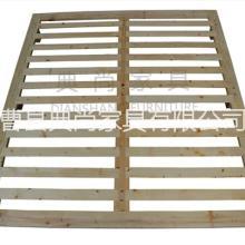 供应用于家具生产|欧式床的实木床架 可拆装排骨架 儿童实木床 实木家具 欧式美式家具床