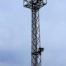 供应加工16.5米照明塔图片
