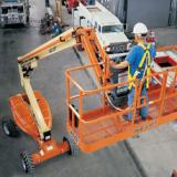 供应高空作业车 升降机 曲臂自行式高空