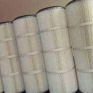 325*865清扫车聚酯纤维除尘滤芯图片
