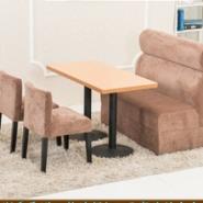 直销西餐咖啡厅卡座沙发餐桌可定做图片