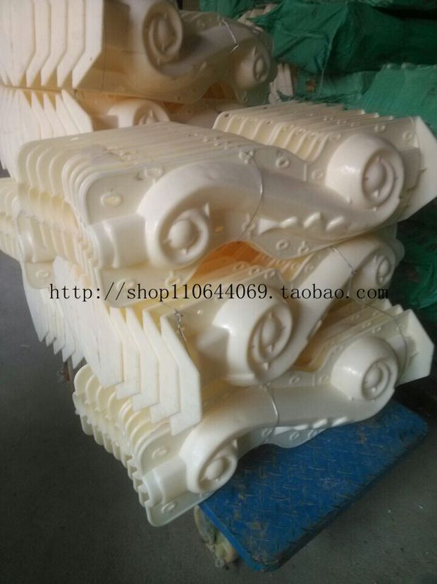欧式水泥构件模具阳台围栏海马脚图片|欧式水泥构件