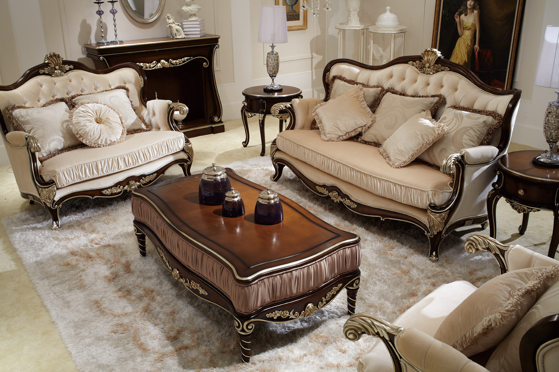 供应法式家具 新古典家具 沙发 茶几 角几图片