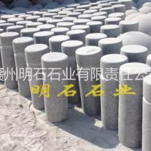 供应赣州芝麻白石柱,赣州挡车石柱