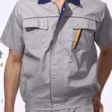 供应半袖工作服短袖工程装夏装套服现货批发