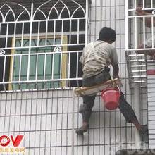 供应用于外墙黑豹的佛山鑫盛外墙防水清洗工程图片