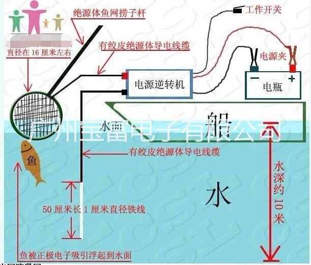 超声波捕鱼器多谐振荡器电路图
